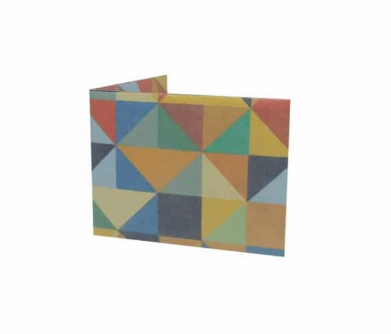 dobra - triangulos coloridos