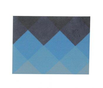 dobra - xadrez azul degradé