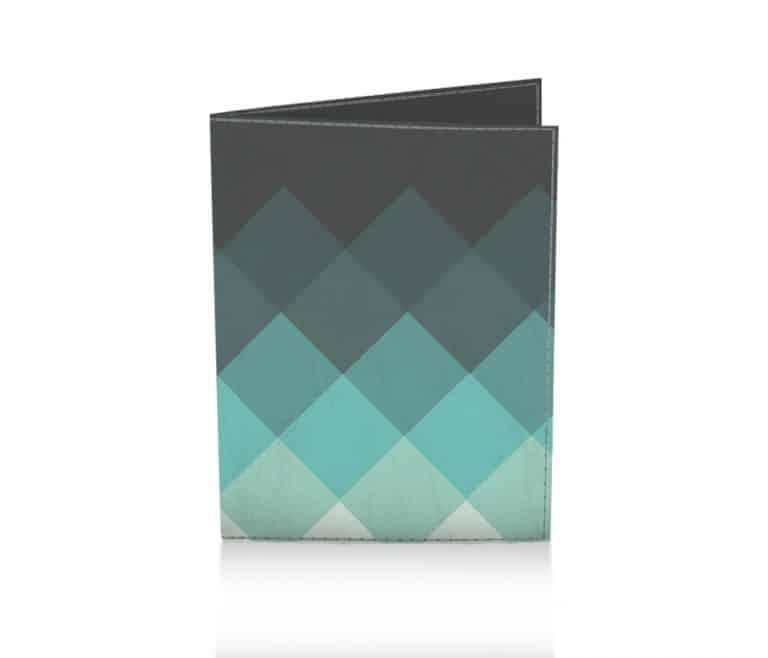 dobra passaporte xadrez verde
