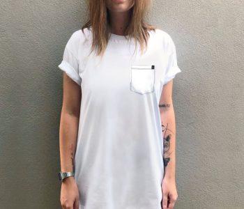 dobra - camiseta base branca