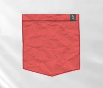 dobra bolso vermelho
