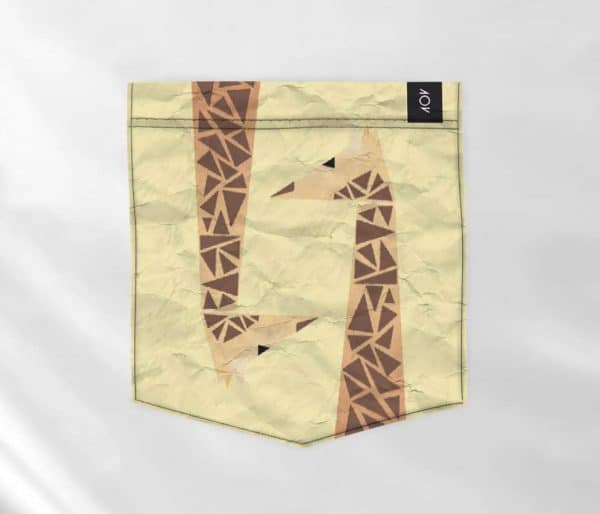 dobra bolso - girafinhas