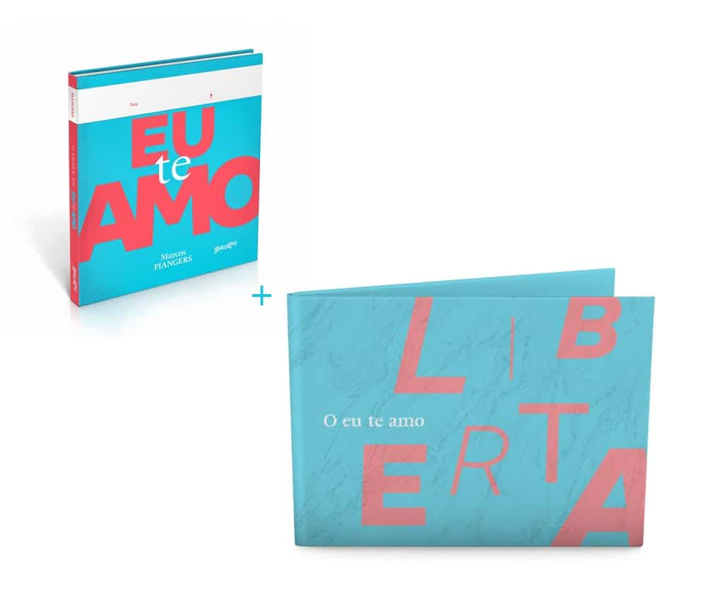 combo livro o poder do eu te amo + dobra eu te amo liberta