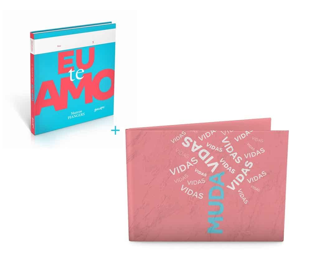 combo livro o poder do eu te amo + dobra te amo muda vidas