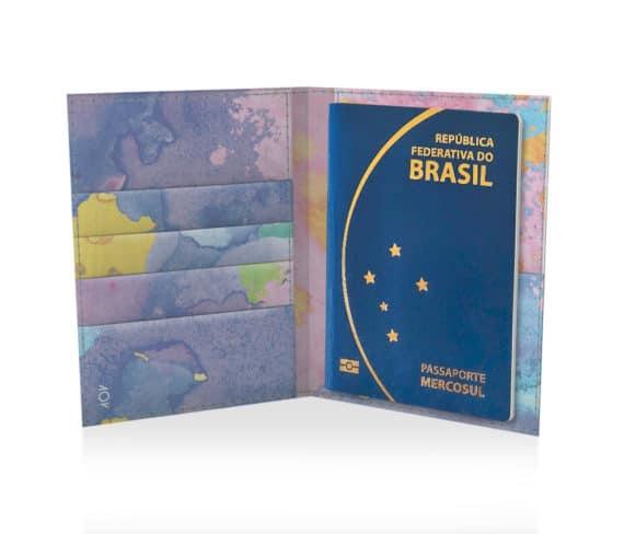 dobra passaporte aquarela