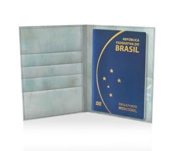 dobra passaporte raminho aquarelado