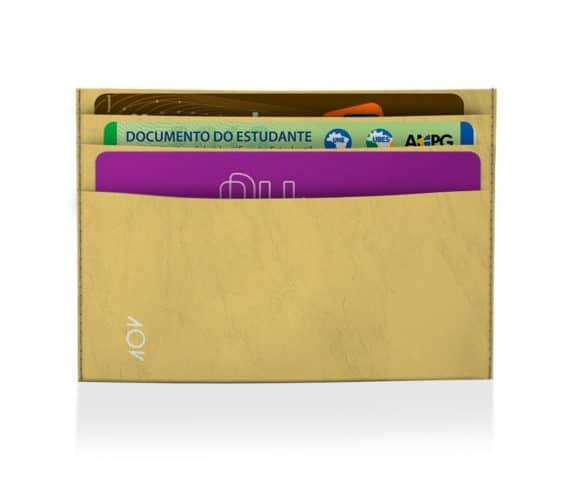 dobra porta cartão all star amarelo