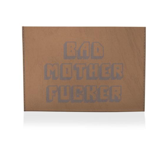 dobra porta cartao bad motherfucker