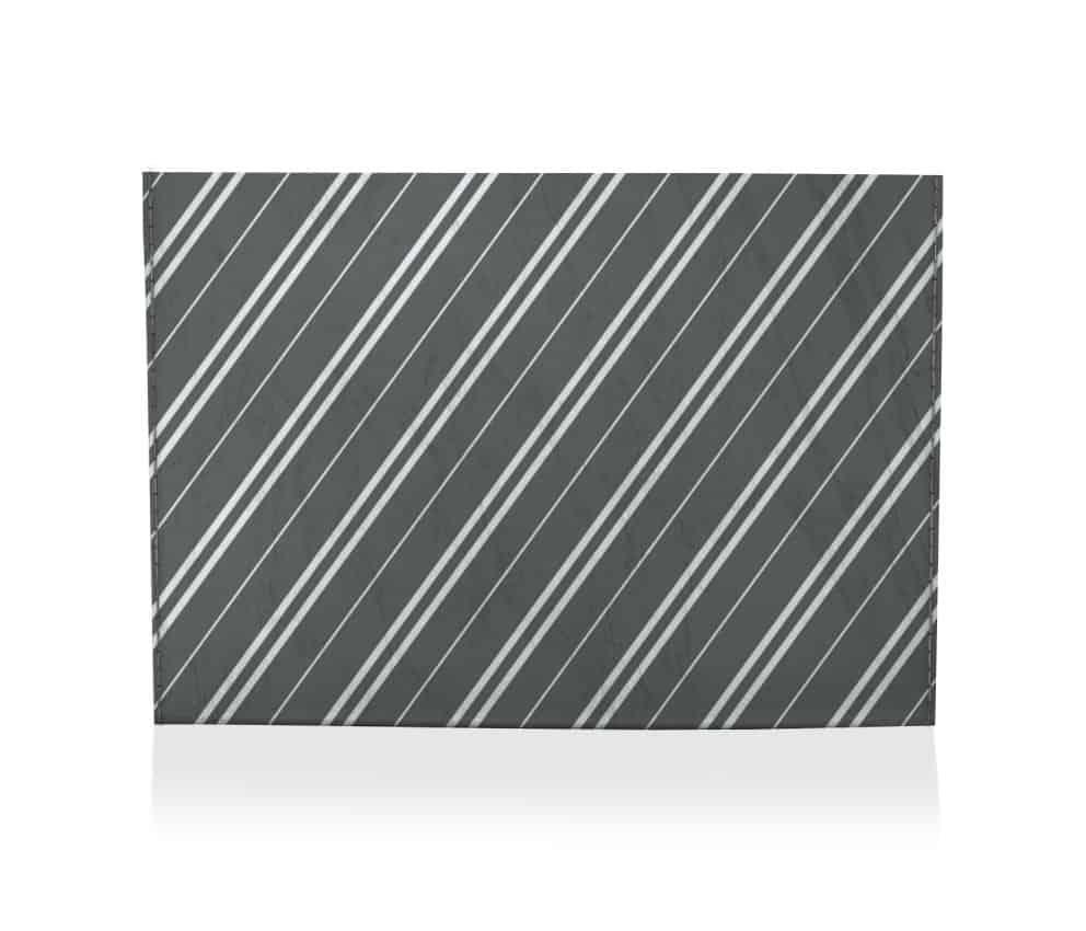 dobra porta cartao double and single lines