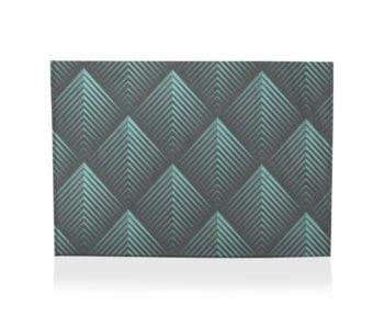 dobra porta cartao filetes triangulares