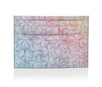 dobrap orta cartao formas psicodelicas
