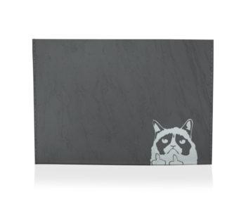 dobra porta cartao grumpy cat