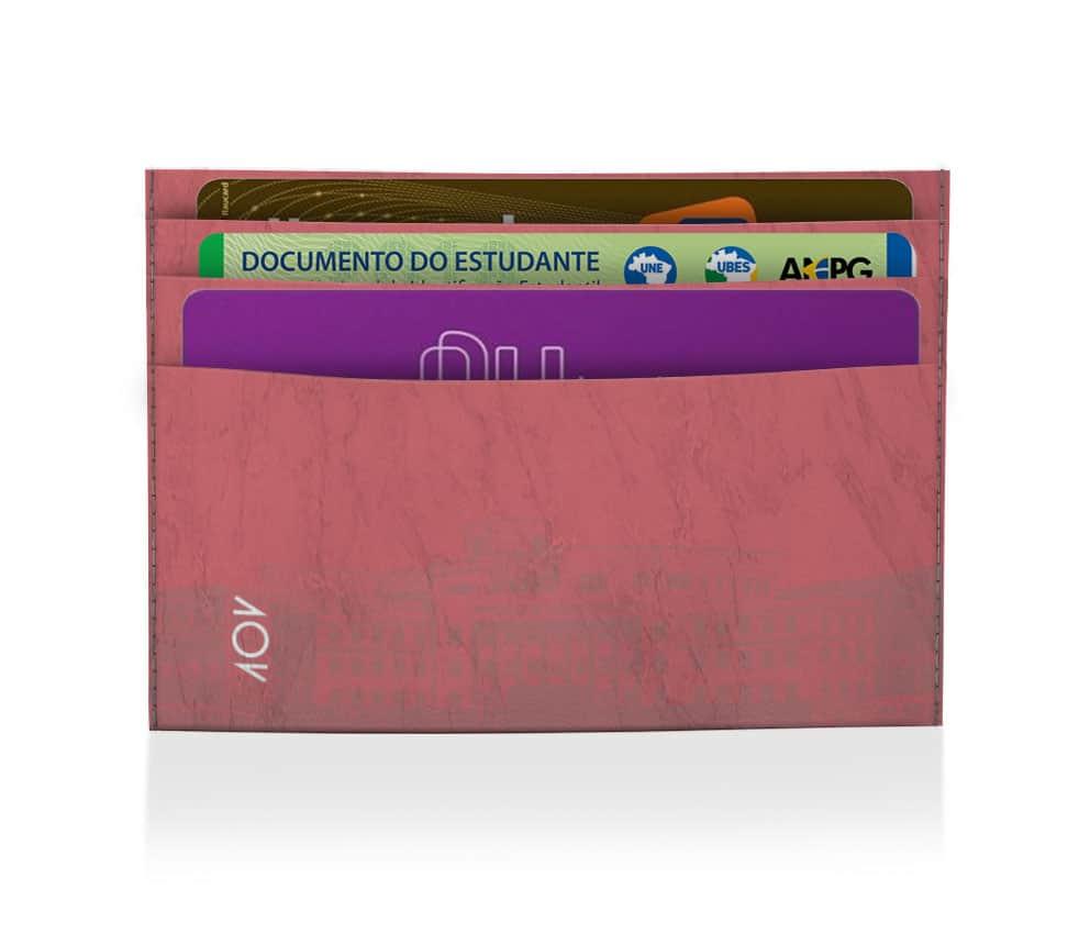 dobra porta cartao la cartera da papel