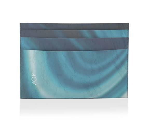 dobra porta cartao marmore azul
