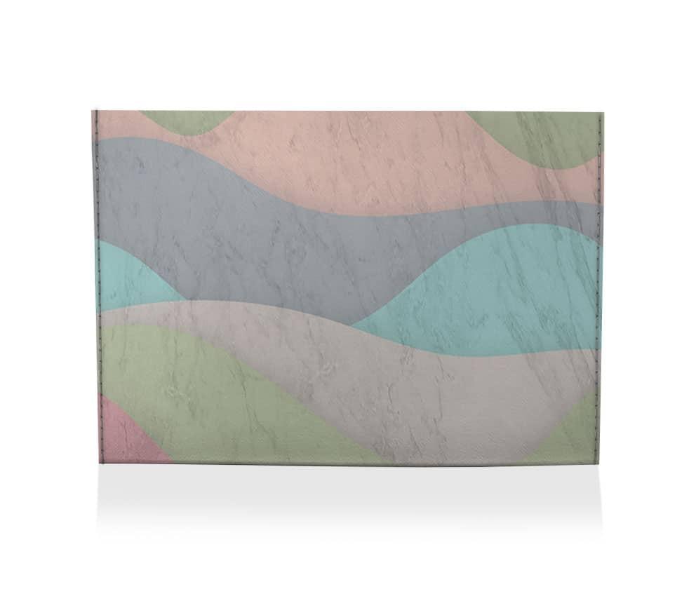 dobra porta cartao montanha 7 cores