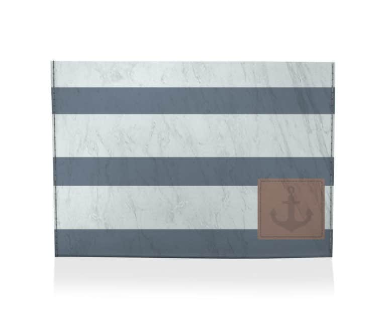 dobra porta cartao navy
