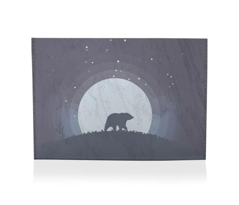 dobra porta cartao the lonely bear