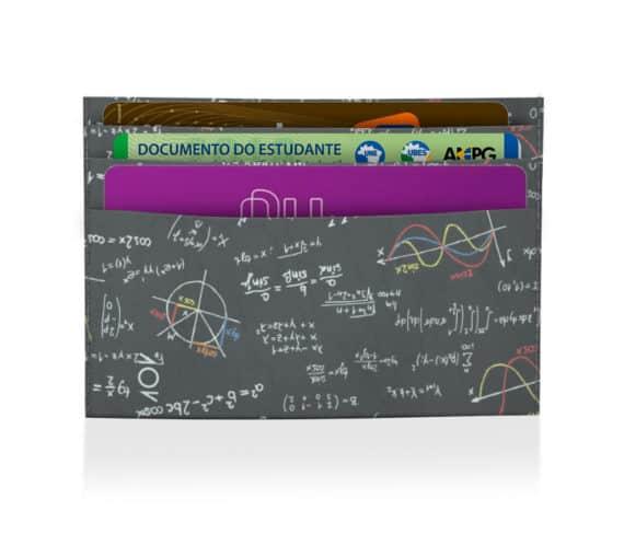 dobra porta cartão matemática