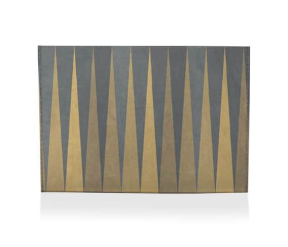 dobra porta cartao pontas geométricas