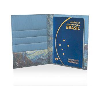 dobra porta passaporte noite estrelada