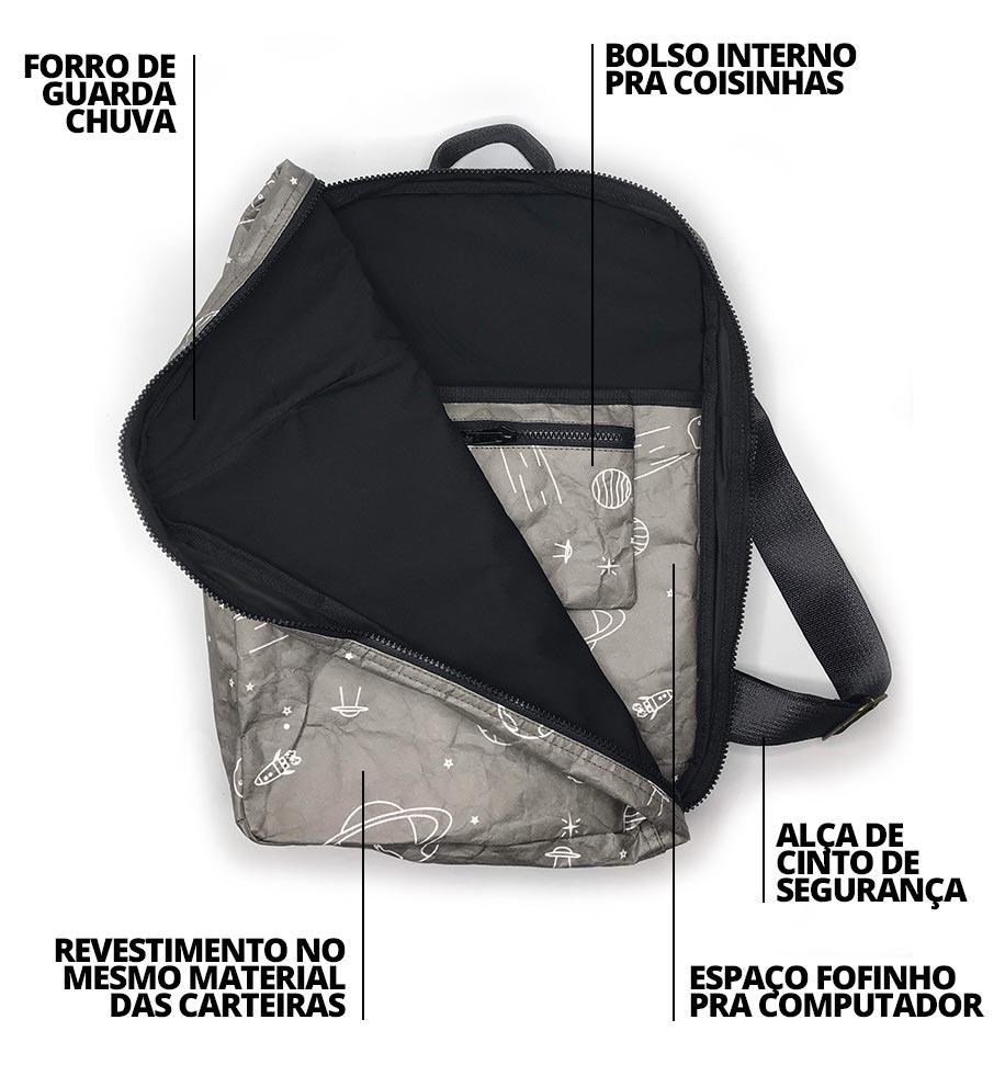 características da mochila