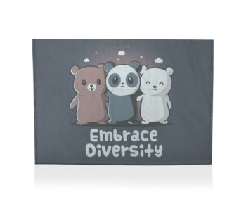 dobra porta cartão embrace diversity