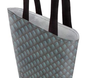 dobra bag filetes triangulares cianos