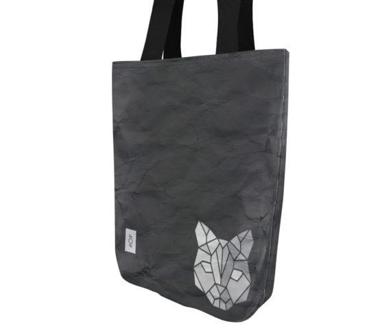 dobra bag geométrico gato