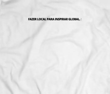 dobra camiseta estampada fazer local para inspirar global