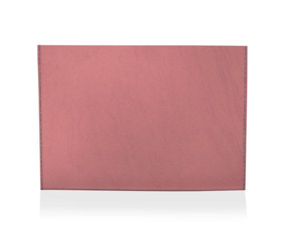dobra porta cartao vermelho liso