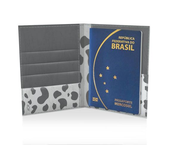 dobra porta passaporte moo black