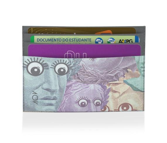 porta cartão paranóica