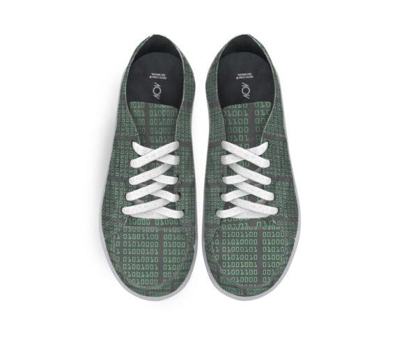 tênis dobra bits verde