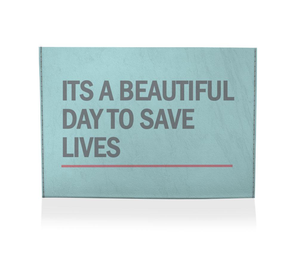 dobra porta cartão save lives