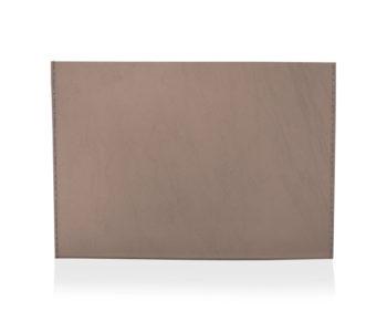 porta cartão lisa marrom