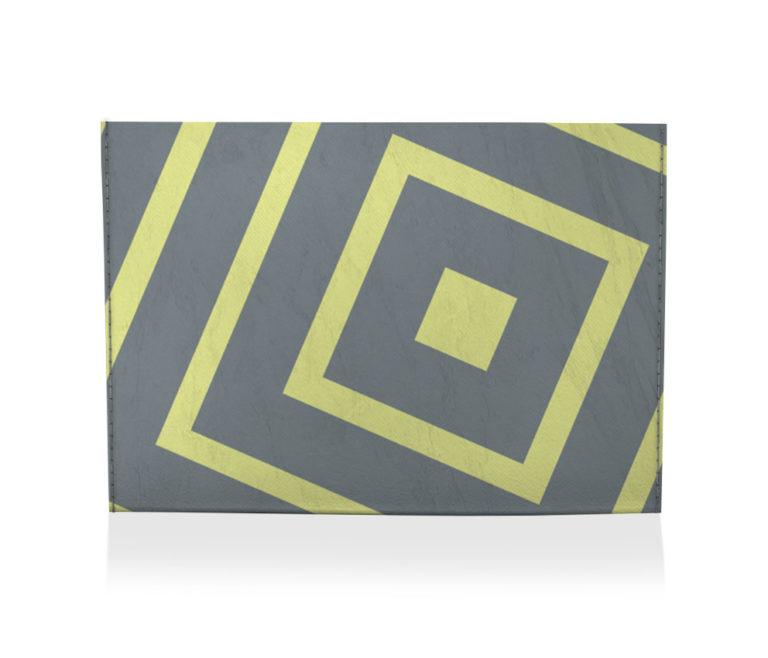 dobra porta cartao quadrados