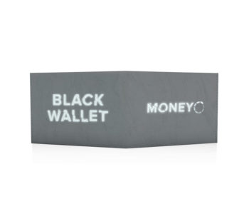 old is cool - black wallet