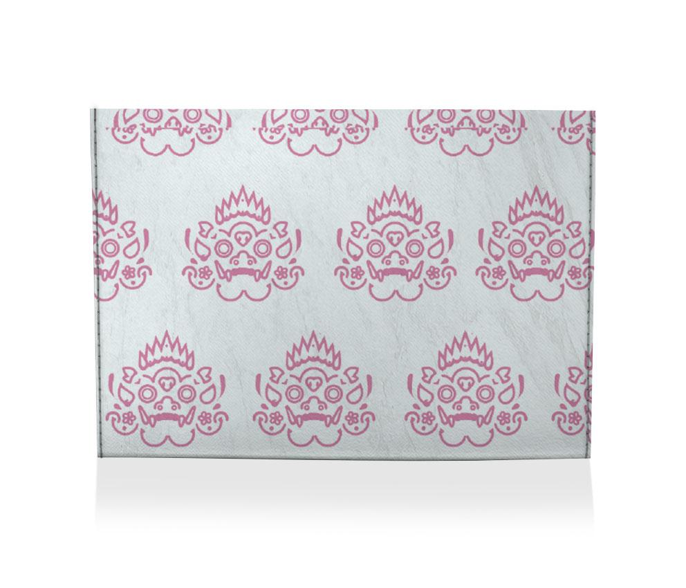 dobra porta cartão barong pink