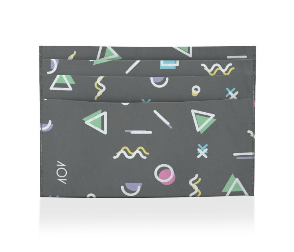 porta cartão memphis black