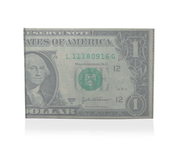 porta cartão one dollar