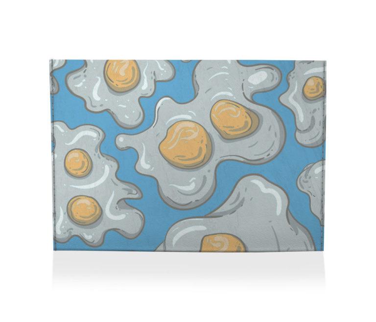 porta cartão ovo frito