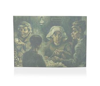 porta cartão os comedores de batata