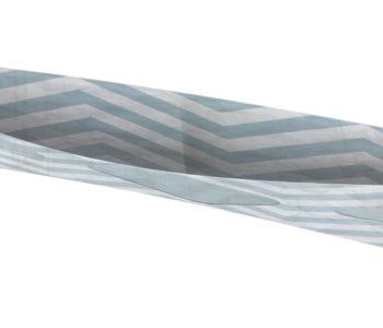 dobra classica chevron azul clarinho