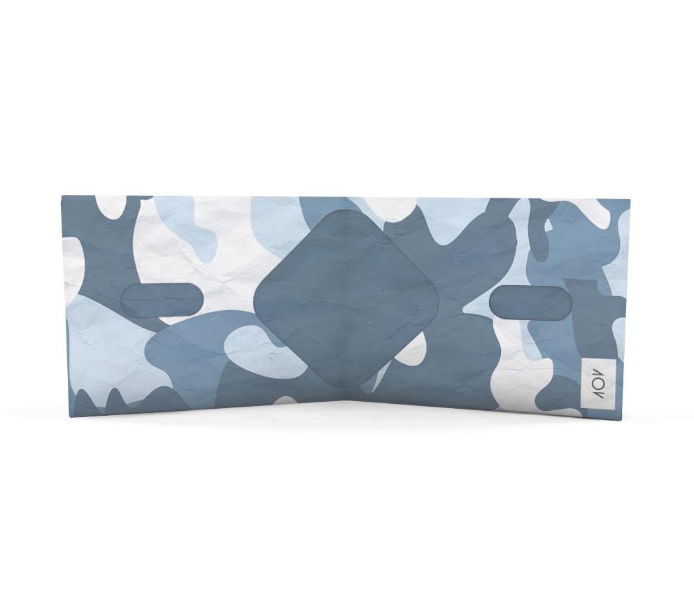 dobra classica camuflado azul