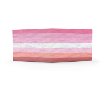 dobra classica bandeira lésbica