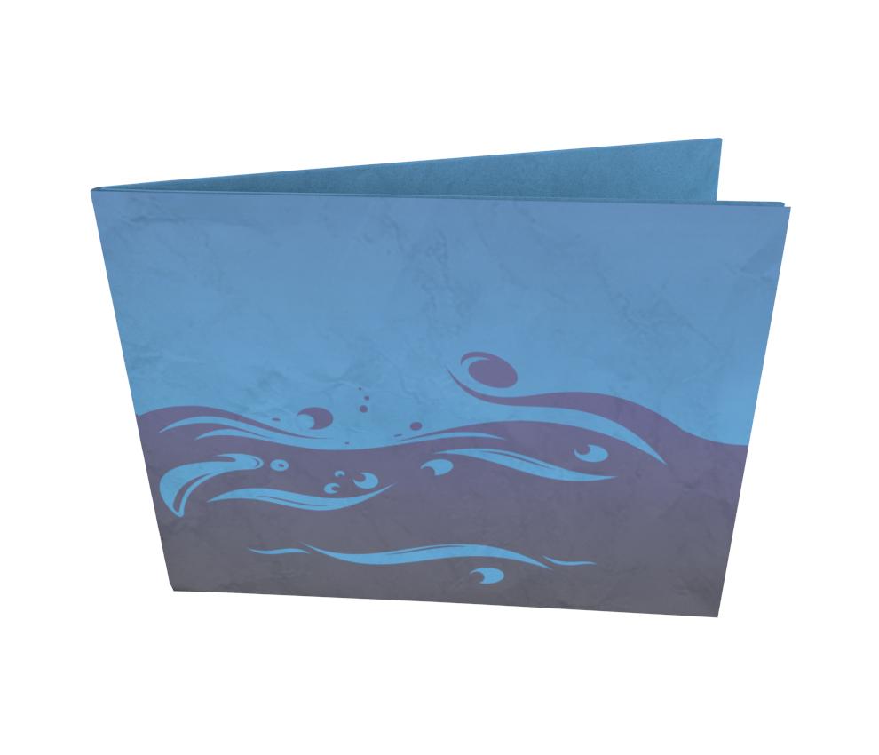 dobra - Nova Carteira Clássica - elemento - água