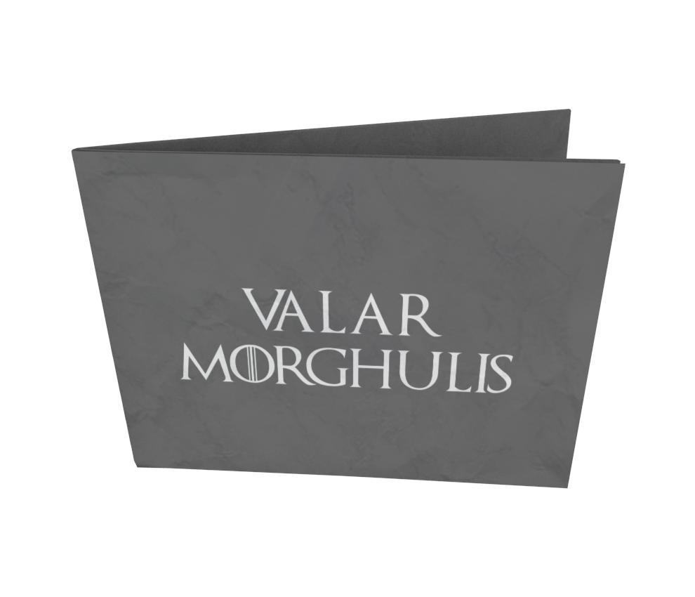 dobra - Nova Carteira Clássica - Valar Morghulis