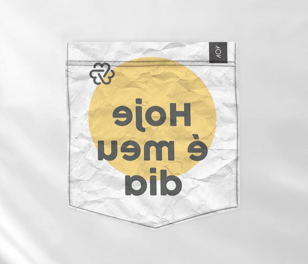 dobra bolso issonaoe hoje é meu dia amarela