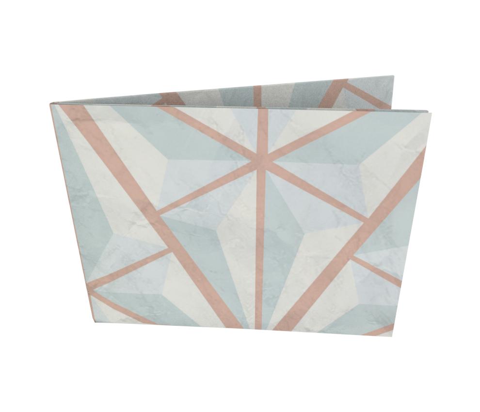dobra - Nova Carteira Clássica - Iced Triangles