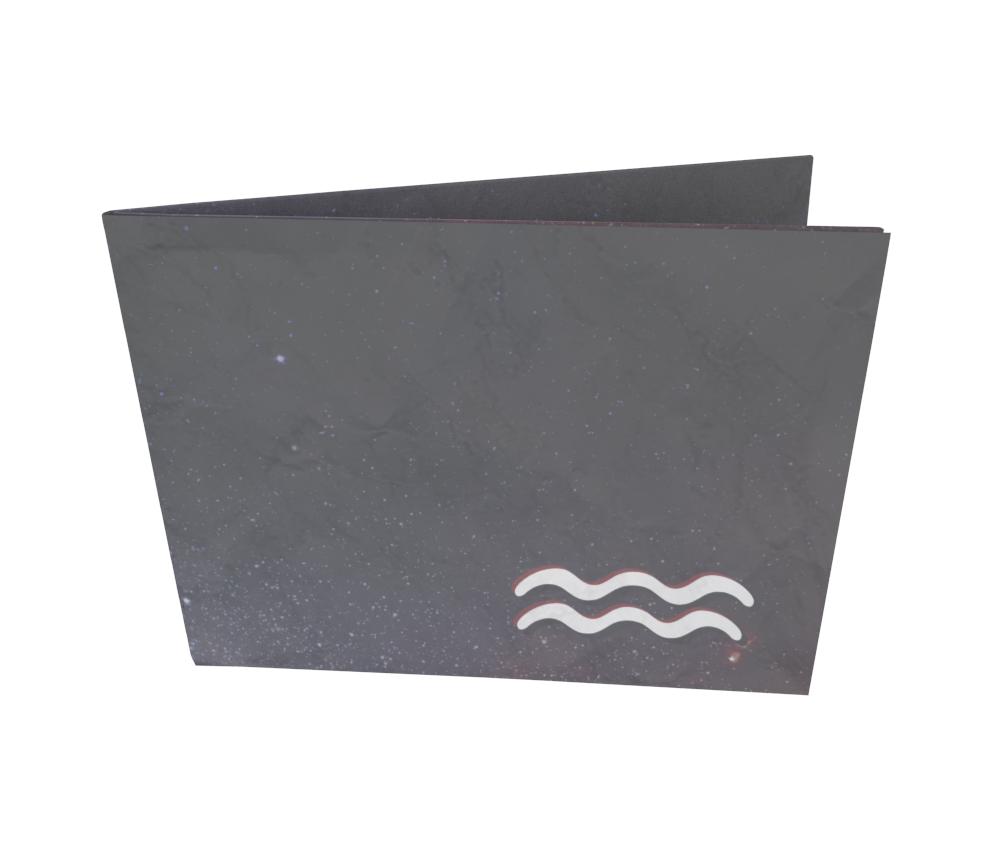 dobra - Nova Carteira Clássica - Signo de aquário